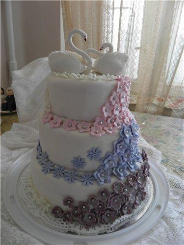 Свадебные торты-безе фото